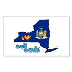 ILY New York Sticker (Rectangle 50 pk)