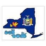 ILY New York Small Poster