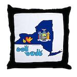 ILY New York Throw Pillow