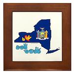 ILY New York Framed Tile