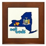 ILY New York Framed Tile