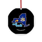ILY New York Ornament (Round)
