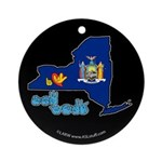 ILY New York Ornament (Round)