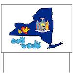ILY New York Yard Sign