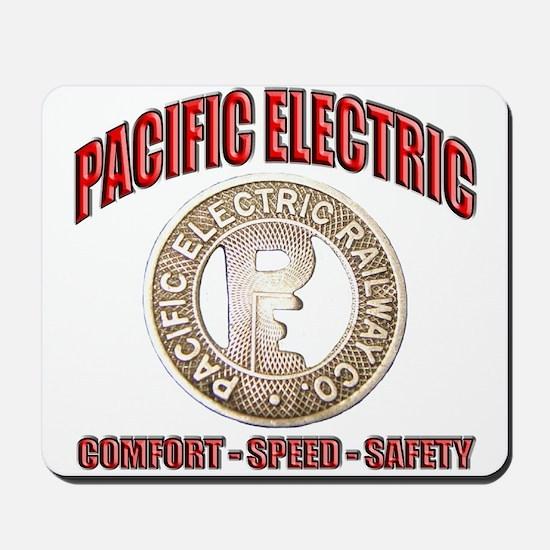 Pacific Electric Railway Mousepad