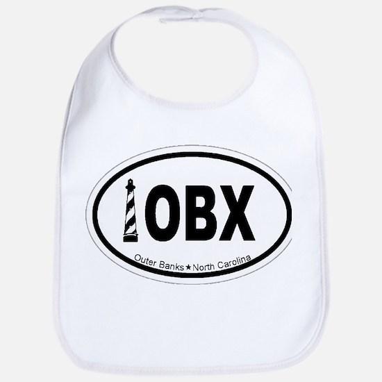 Outer Banks NC - Oval Design Bib