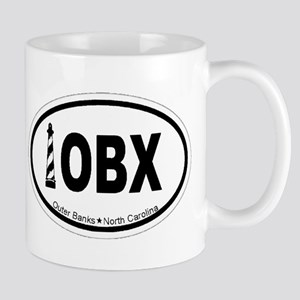 Outer Banks NC - Oval Design Mug