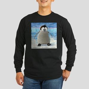 Duncan Fuzz Long Sleeve Dark T-Shirt