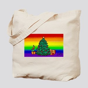 GAY Christmas art Tote Bag