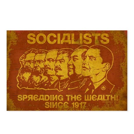 Socialists Spreading The Wealth Postcards (Package