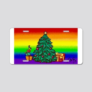 GAY Christmas art Aluminum License Plate