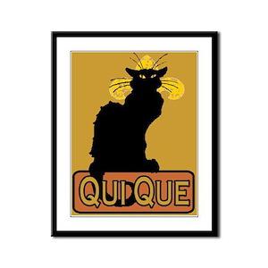 Cajun Qui Que Framed Panel Print