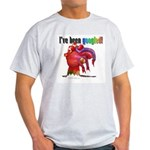 I've Been Googled Ash Grey T-Shirt