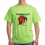 I've Been Googled Green T-Shirt