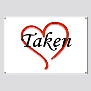 Taken! Married or Engaged Des Banner
