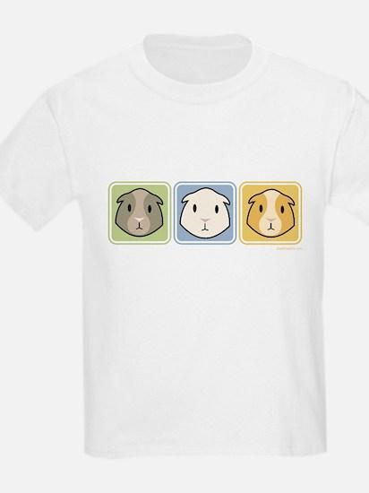 Three Guinea Pig T Shirt (Kids)