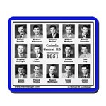 1951 Catholic Central HS, Ottumwa, IA, Mousepad
