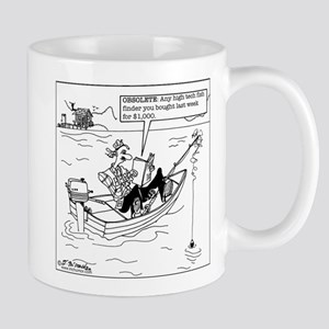 Obsolete Fish Finder Mug