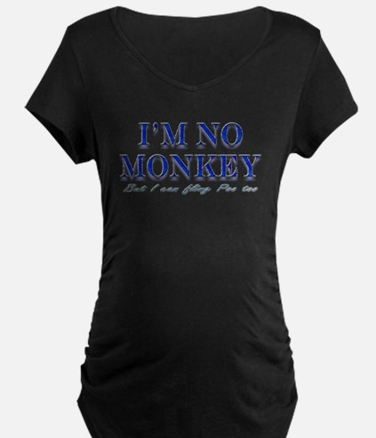 I'm no Monkey, But I can Flin T-Shirt