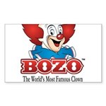 Bozo face Sticker