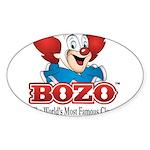 Bozo face Sticker