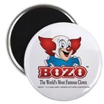 Bozo face Magnets