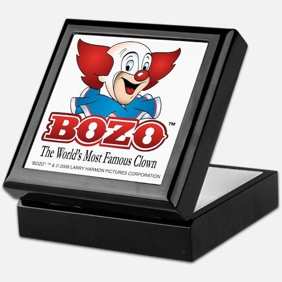 Cute Bozo the clown Keepsake Box