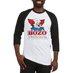 Bozo face Baseball Jersey
