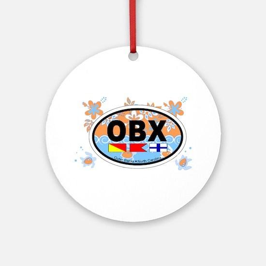 Outer Banks NC - Oval Design Kids Sweatshirt