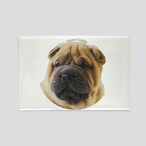 Chinese Shar Pei Rectangle Magnet