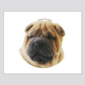 Chinese Shar Pei Small Poster