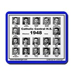 1948, Catholic Central, Ottumwa, Iowa, HS,Mousepad