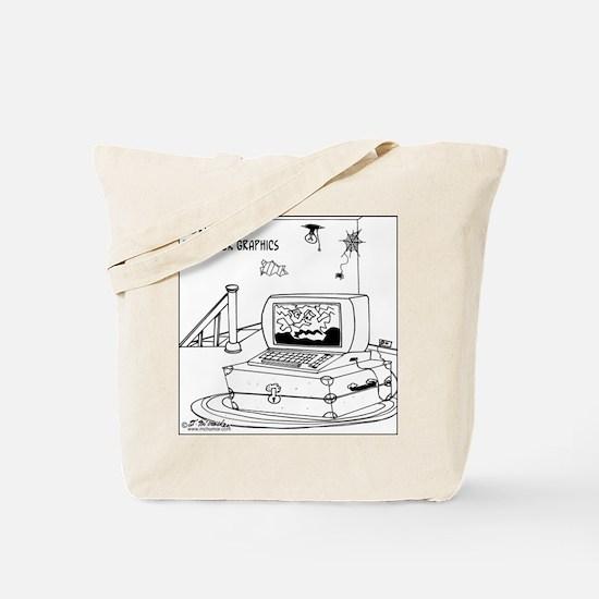 Dorian Gray's Computer Graphics Tote Bag