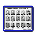 1947 Catholic Central HS, Ottumwa, Iowa, Mousepad