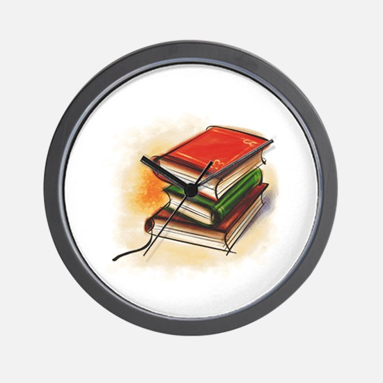 Books Wall Clock