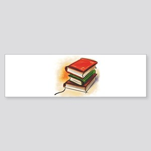 Books Sticker (Bumper)