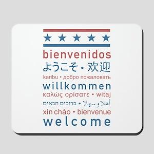 """""""Welcome USA"""" Mousepad"""
