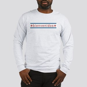 """Welcome USA"" Long Sleeve T-Shirt"