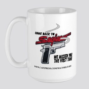 COME BACK TO SAGINAW Large Mug