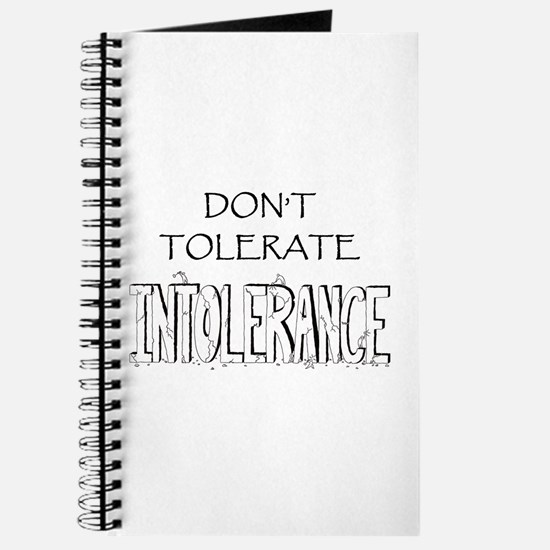 Don't Tolerate Intolerance Journal