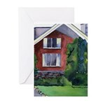 New England Watercolor Greeting Cards (Package of