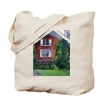 New England Watercolor Tote Bag