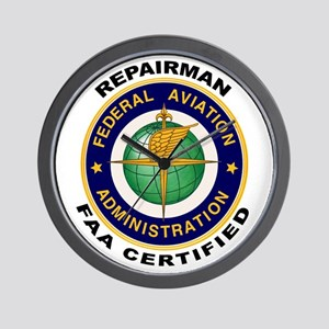 FAA Certified Repairman Wall Clock