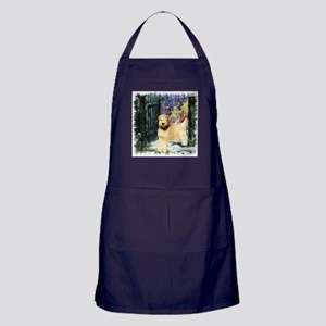Wheaten Terrier Art Apron (dark)