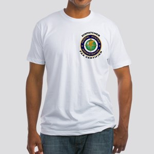 FAA Certified Dispatcher Fitted T-Shirt