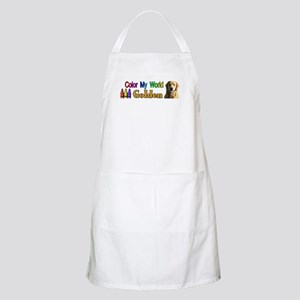 Color My World Golden Apron