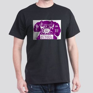 K&B Telephone Ad Black T-Shirt