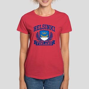 Helsinki Finland Women's Dark T-Shirt