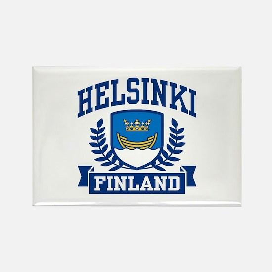 Helsinki Finland Rectangle Magnet