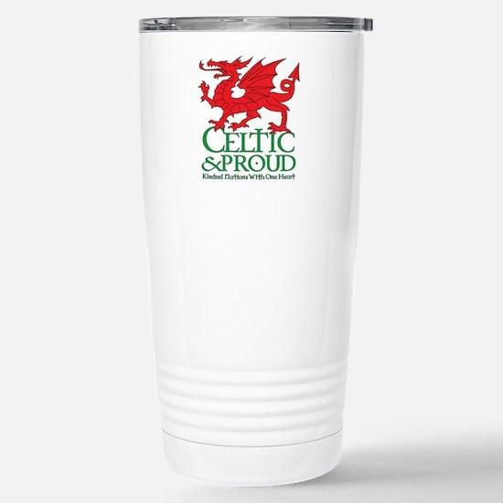 C&P Wales Stainless Steel Travel Mug